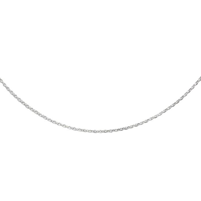 Stříbrný řetízek cable MO4D Ø040 45cm