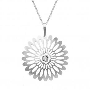 Stříbrný přívěšek na stříbrném řetízku KO0941V_CU050_50