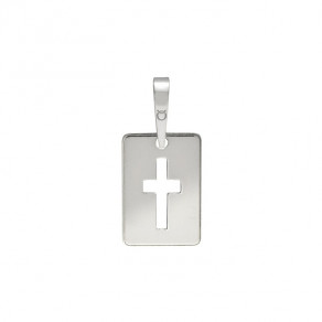 Stříbrný střední přívěsek PA0027 křížek