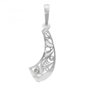 Stříbrný malý přívěšek PA0836m Magic orient Saracen s kamínky Preciosa