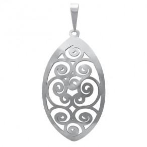 Stříbrný velký přívěšek PA1283v Magic orient Spiral