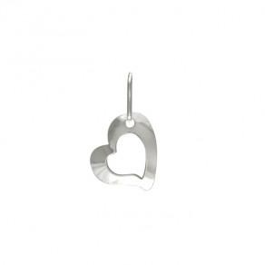 Stříbrný malý přívěsek PA1320 srdce