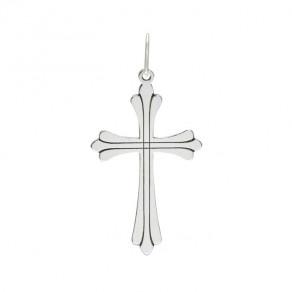Stříbrný velký přívěsek PA1450v křížek