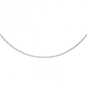 Stříbrný řetízek cable VO4D Ø040 45cm