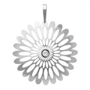 Stříbrný velký přívěsek PA0941v Magic Orient Shining Blossom