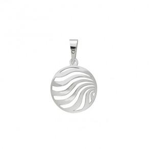 Stříbrný velký přívěsek PA1413 ornamenty